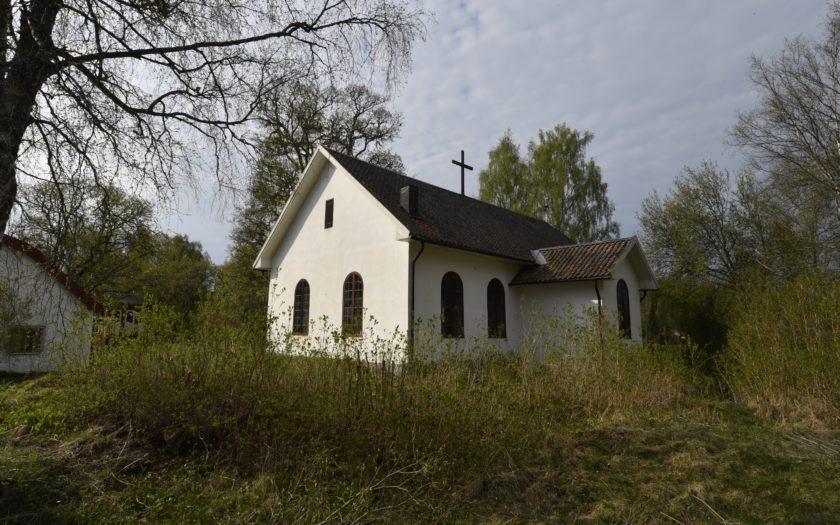 Kapellet taget från norra sidan