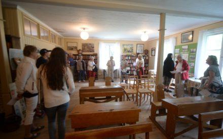 Skolsalen - bild tagen inomhus