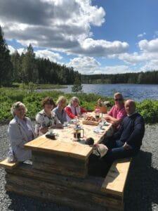 Möte med kommunalråden på Norns Bruk juni 2019